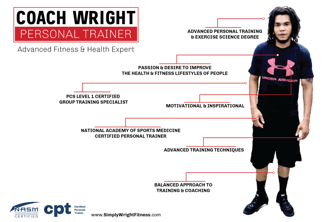 Coach Wright (Josh Wright), Owner of Simply Wright Fitness