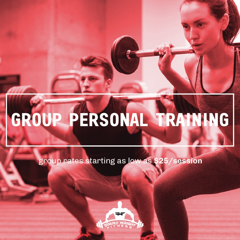 Group Personal Training @ Simply Wright Fitness